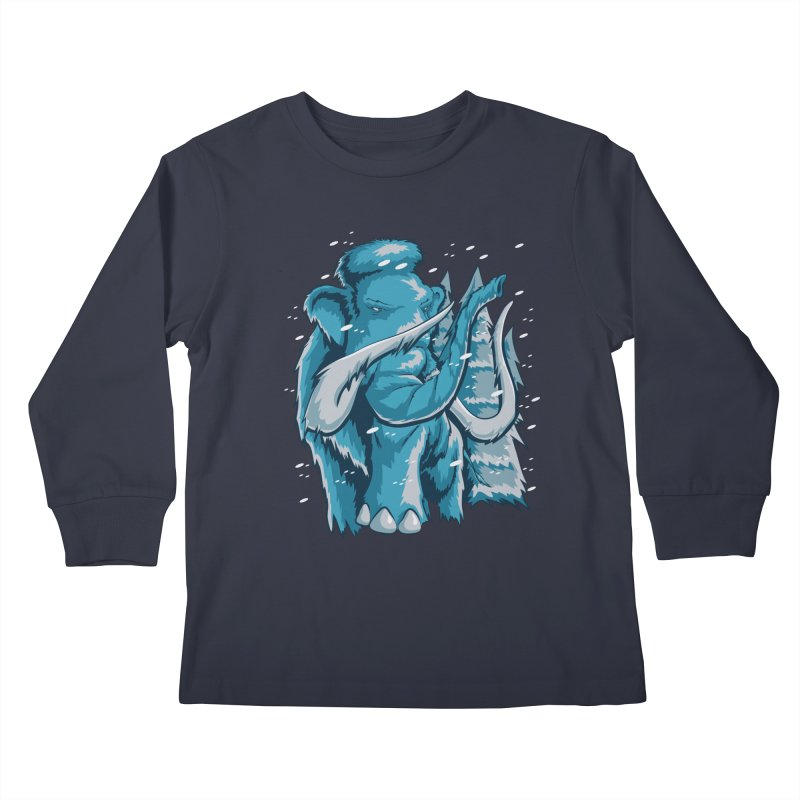 Arctic Giant Kids Longsleeve T-Shirt by Stephen Hartman Illustration Shop