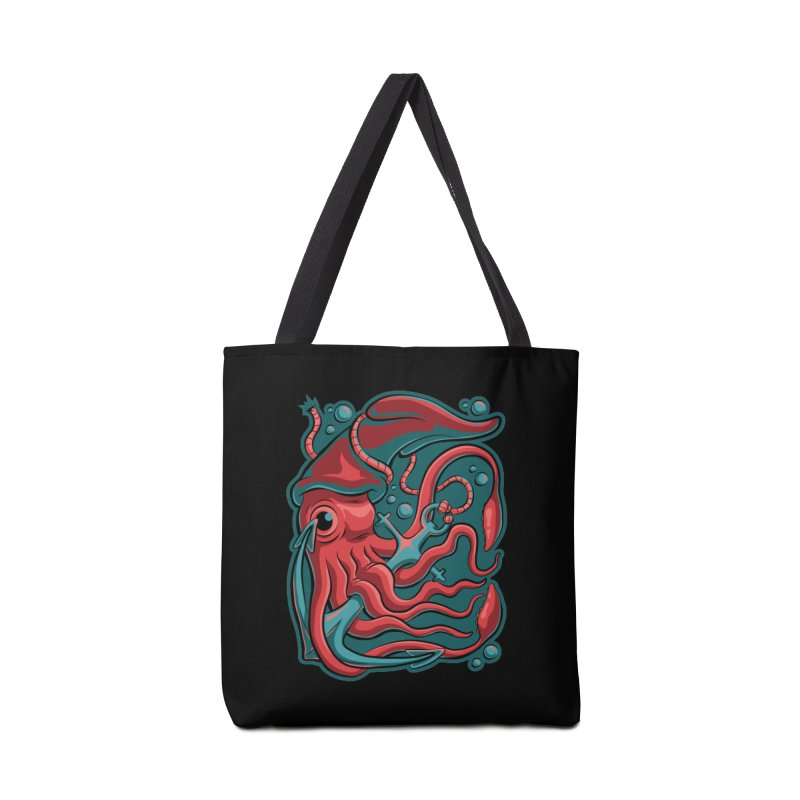 Squid Accessories Tote Bag Bag by Stephen Hartman Illustration Shop