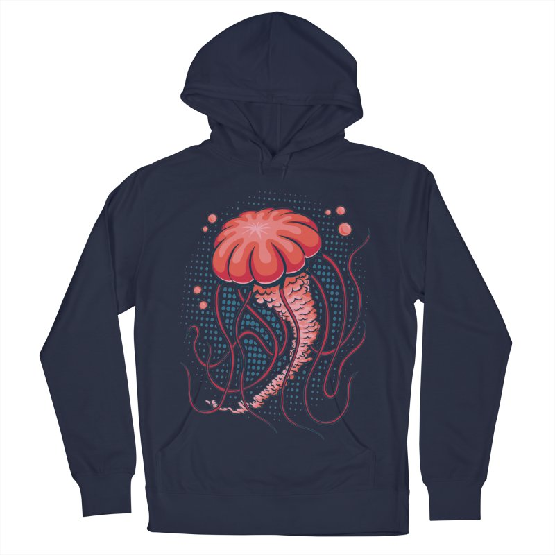 Jellyfish Men's Pullover Hoody by Stephen Hartman Illustration Shop