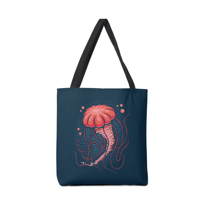 Jellyfish Accessories Tote Bag Bag by Stephen Hartman Illustration Shop