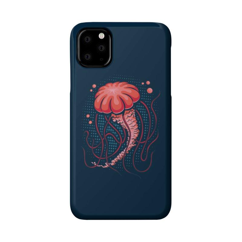 Jellyfish Accessories Phone Case by Stephen Hartman Illustration Shop
