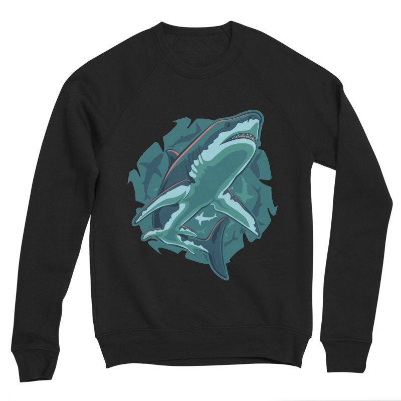 Top Predator Women's Sponge Fleece Sweatshirt by Stephen Hartman Illustration Shop