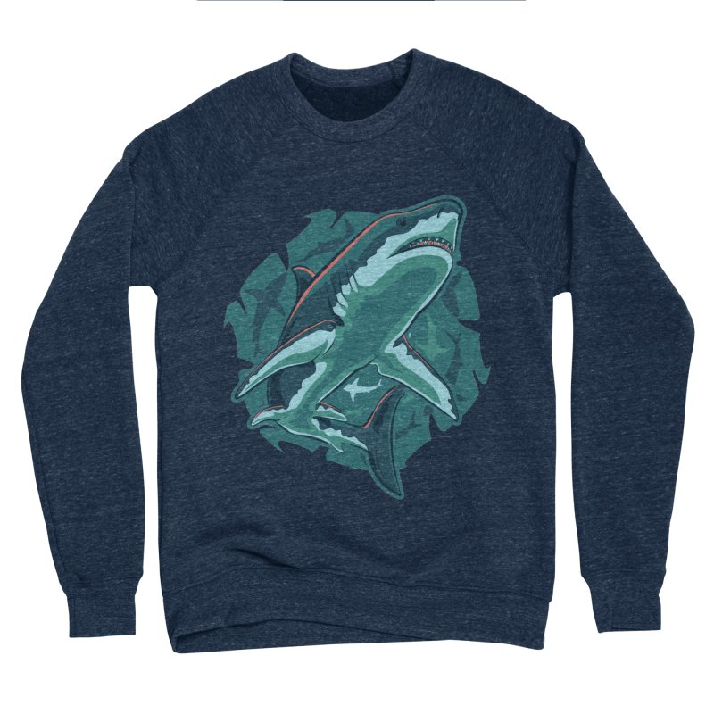 Top Predator Men's Sponge Fleece Sweatshirt by Stephen Hartman Illustration Shop