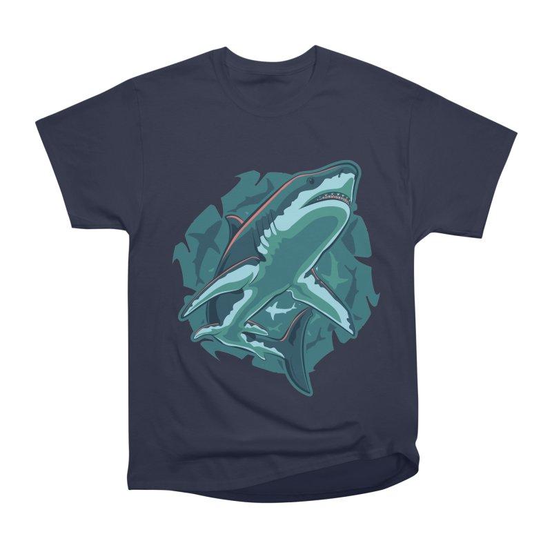 Top Predator Women's Heavyweight Unisex T-Shirt by Stephen Hartman Illustration Shop