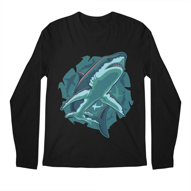 Top Predator Men's Regular Longsleeve T-Shirt by Stephen Hartman Illustration Shop