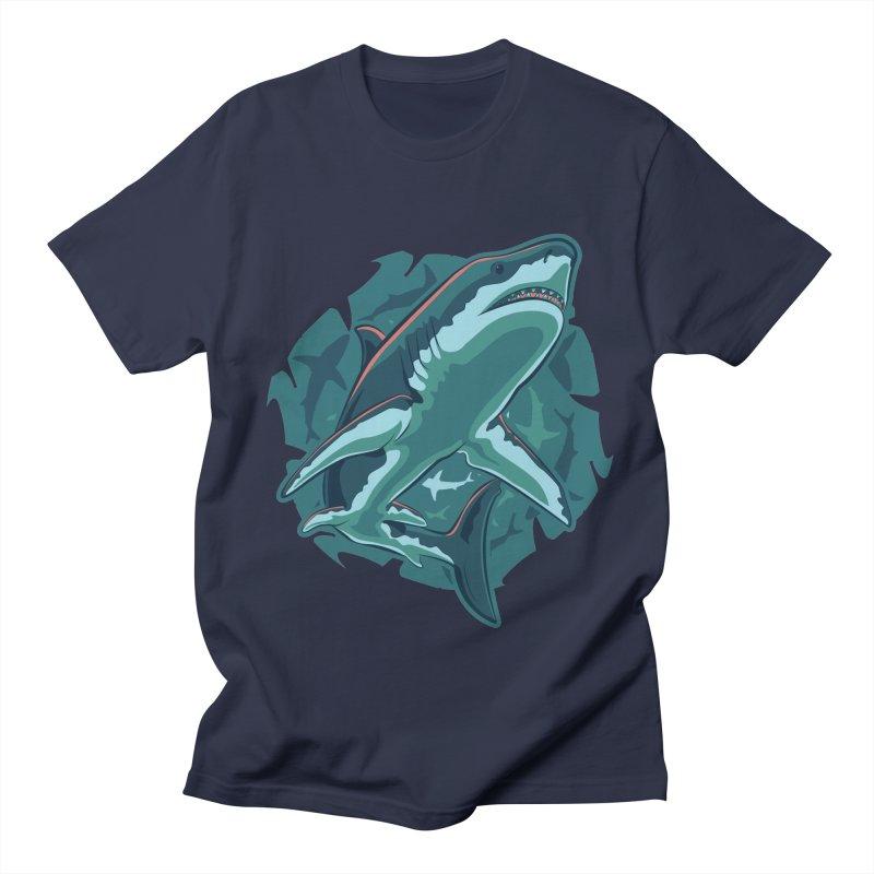 Top Predator Men's Regular T-Shirt by Stephen Hartman Illustration Shop