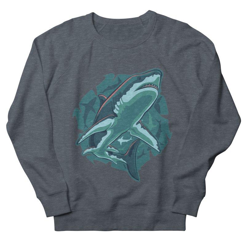 Top Predator Women's French Terry Sweatshirt by Stephen Hartman Illustration Shop
