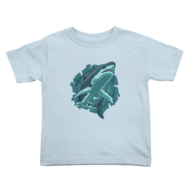 Top Predator Kids Toddler T-Shirt by Stephen Hartman Illustration Shop