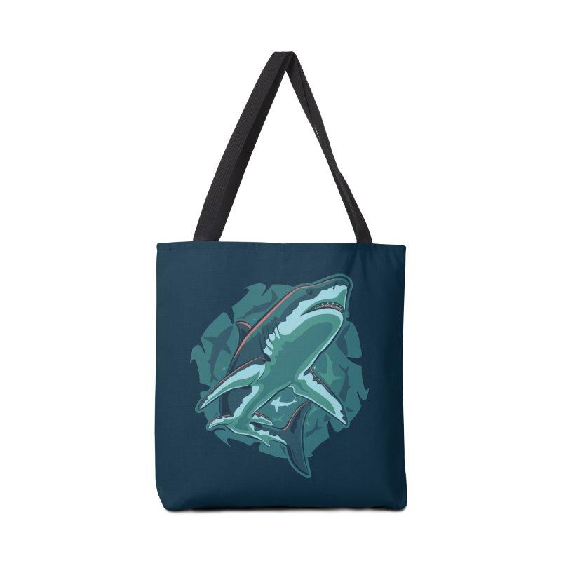 Top Predator Accessories Bag by Stephen Hartman Illustration Shop