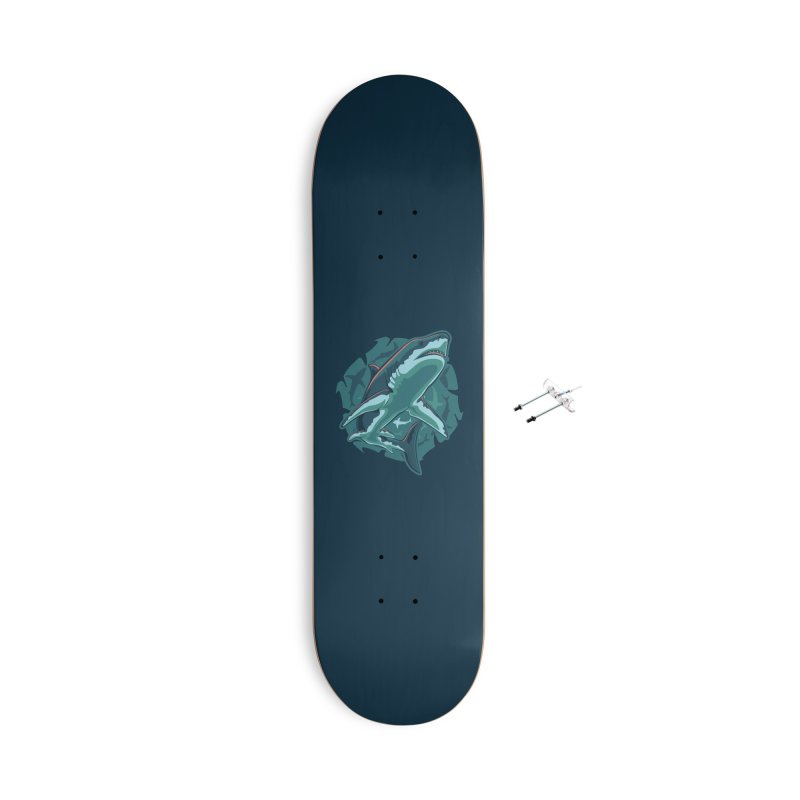 Top Predator Accessories With Hanging Hardware Skateboard by Stephen Hartman Illustration Shop