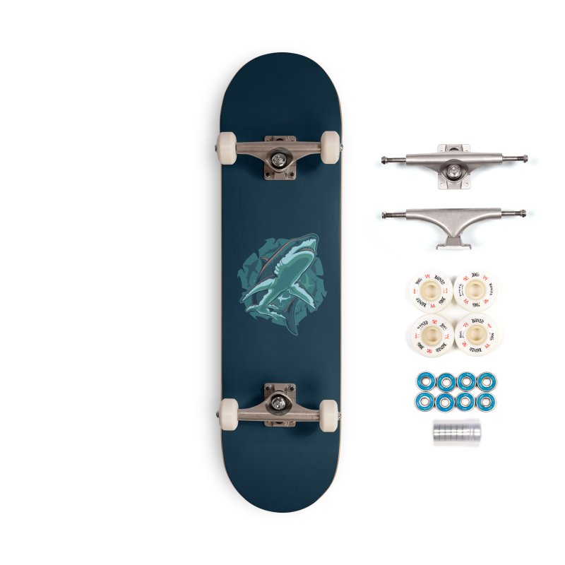 Top Predator Accessories Complete - Premium Skateboard by Stephen Hartman Illustration Shop