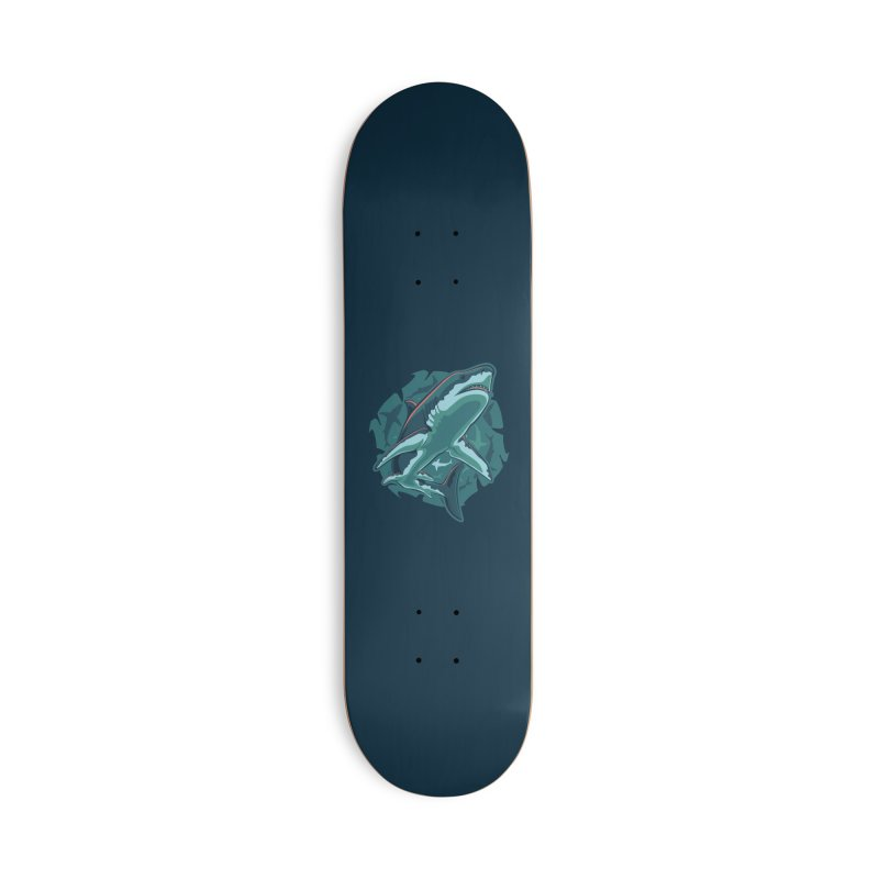 Top Predator Accessories Deck Only Skateboard by Stephen Hartman Illustration Shop