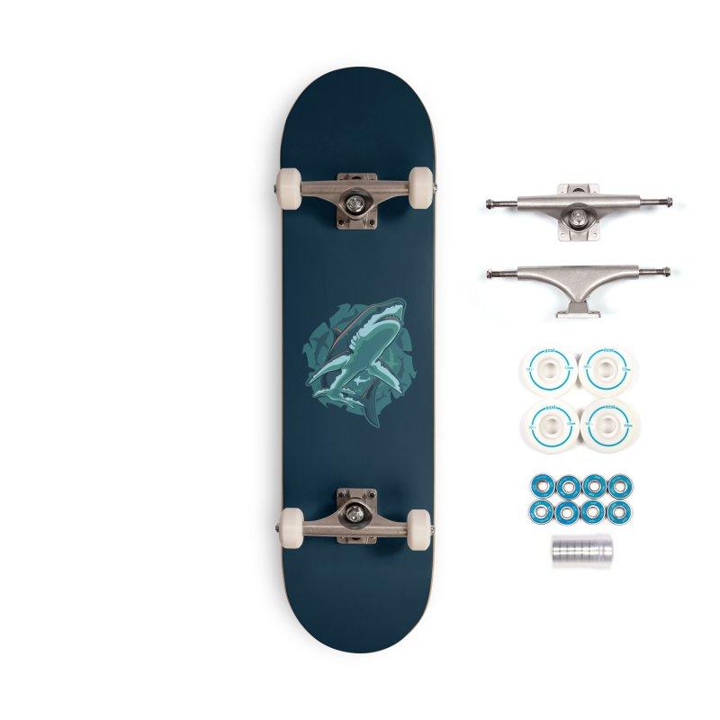 Top Predator Accessories Skateboard by Stephen Hartman Illustration Shop