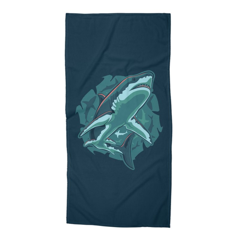 Top Predator Accessories Beach Towel by Stephen Hartman Illustration Shop