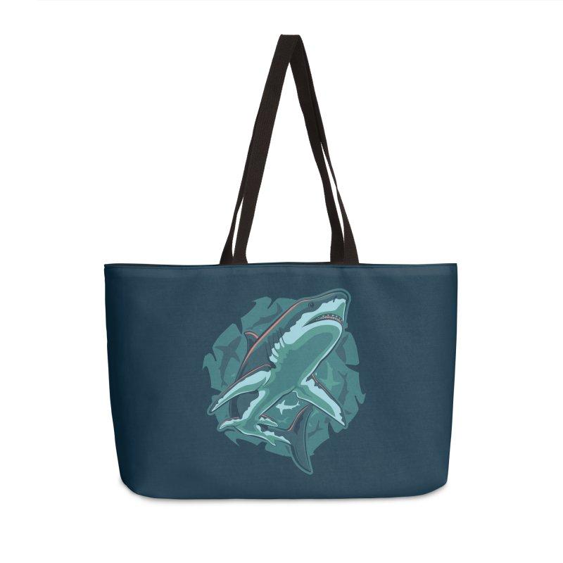 Top Predator Accessories Weekender Bag Bag by Stephen Hartman Illustration Shop