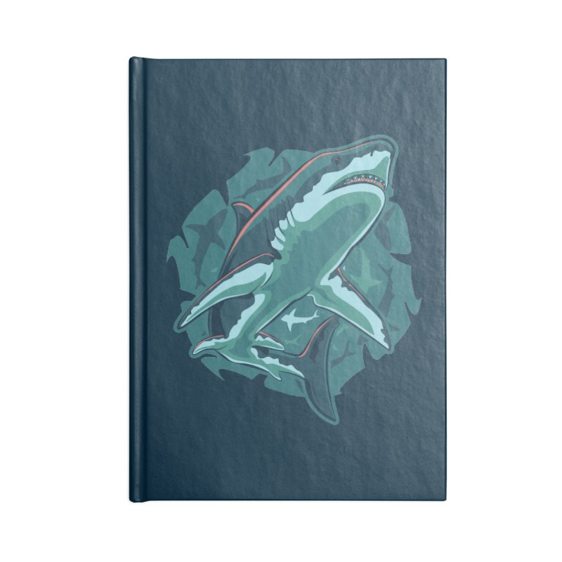 Top Predator Accessories Lined Journal Notebook by Stephen Hartman Illustration Shop