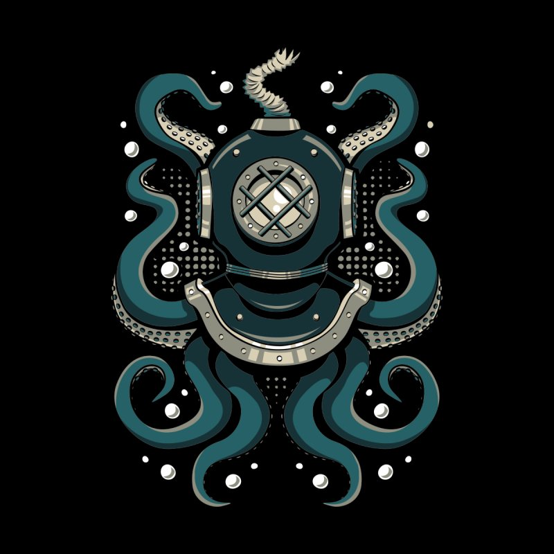Nautical Depths by Stephen Hartman Illustration Shop