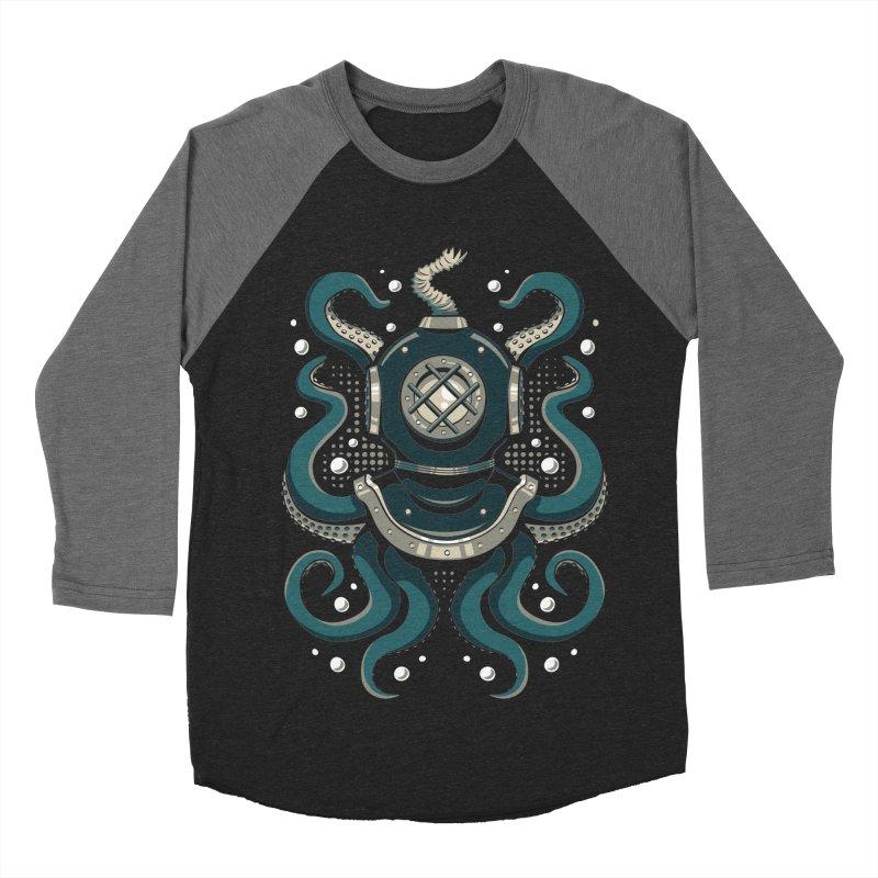 Nautical Depths Women's Baseball Triblend Longsleeve T-Shirt by Stephen Hartman Illustration Shop
