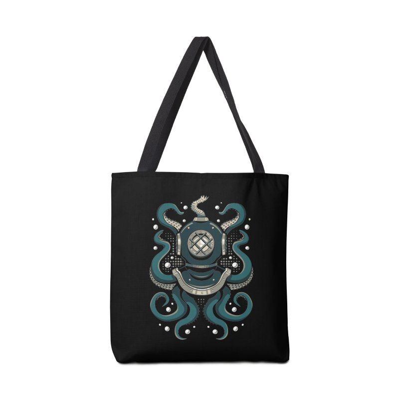 Nautical Depths Accessories Tote Bag Bag by Stephen Hartman Illustration Shop