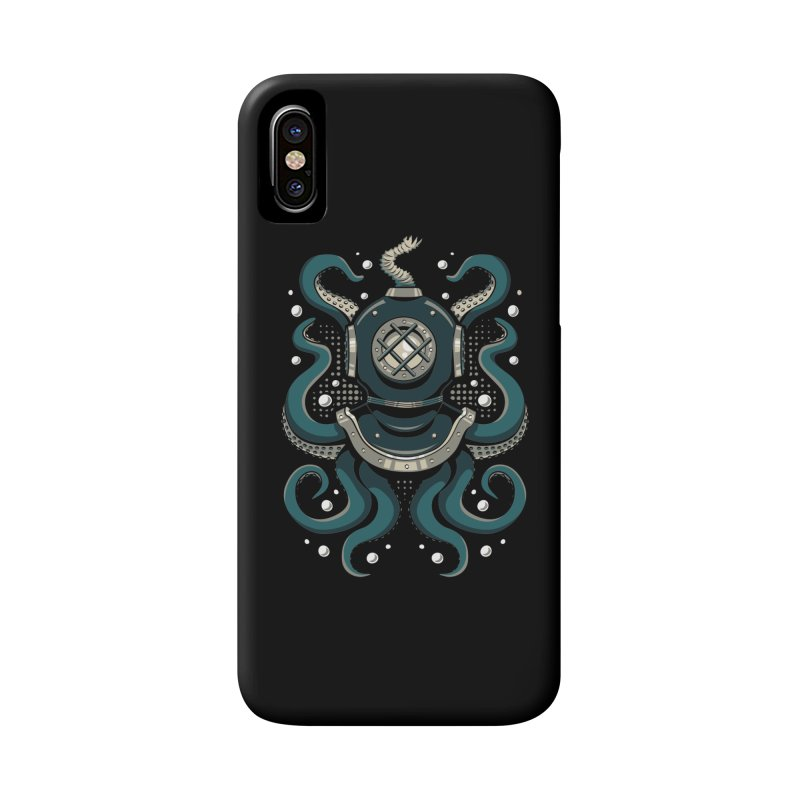 Nautical Depths Accessories Phone Case by Stephen Hartman Illustration Shop