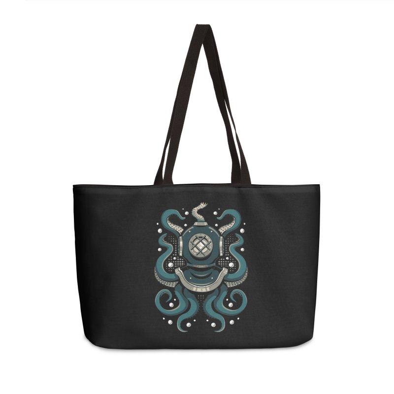 Nautical Depths Accessories Weekender Bag Bag by Stephen Hartman Illustration Shop