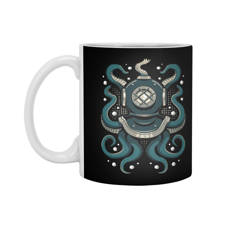 Nautical Depths Accessories Standard Mug by Stephen Hartman Illustration Shop