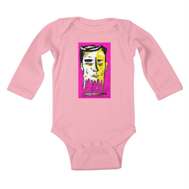 Melting Tuk Tuk Kids Baby Longsleeve Bodysuit by Stephen Petronis's Shop