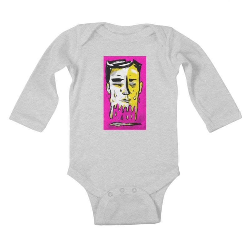 Melting Tuk Tuk Kids Baby Longsleeve Bodysuit by Stephen Petronis's Shop