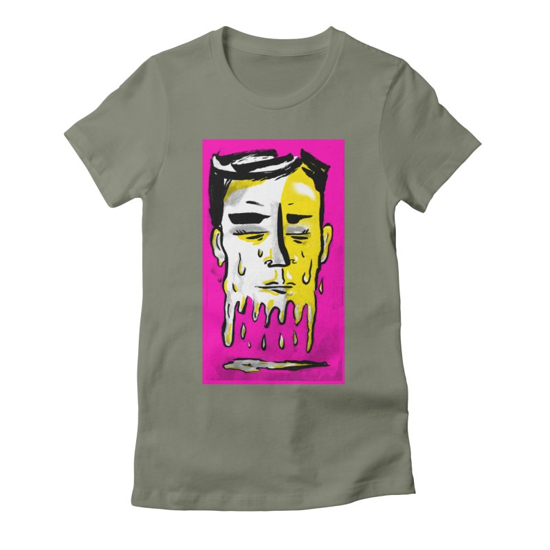 Melting Tuk Tuk Women's Fitted T-Shirt by Stephen Petronis's Shop