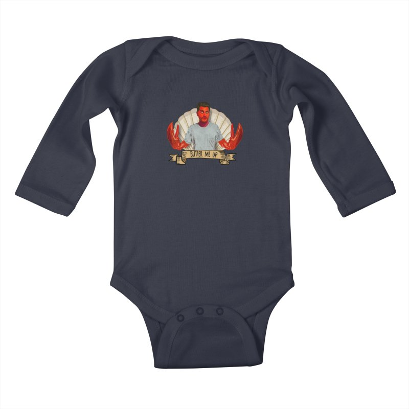 Don't get steamed Kids Baby Longsleeve Bodysuit by Stephen Petronis's Shop