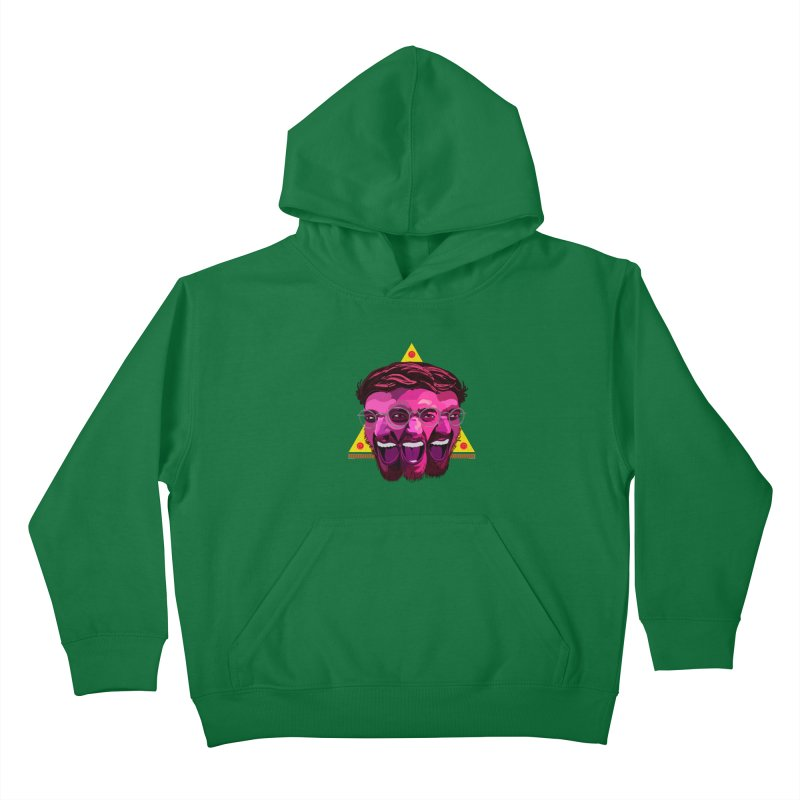 Pizza Spinning Dylan Kids Pullover Hoody by Stephen Petronis's Shop
