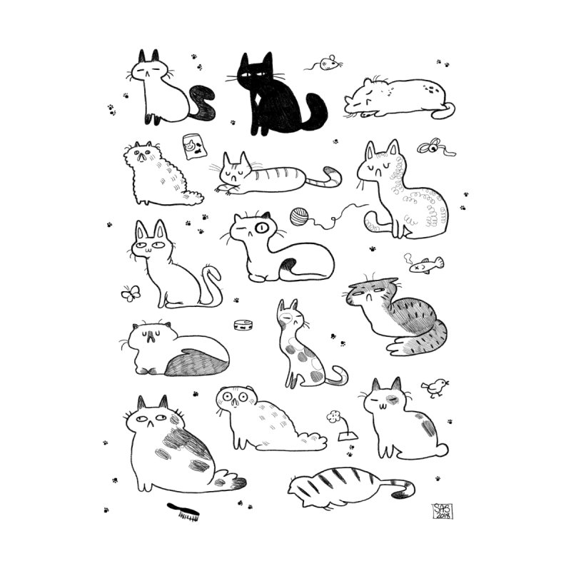 Doodle Cats by Steph Stanga's Artist Shop