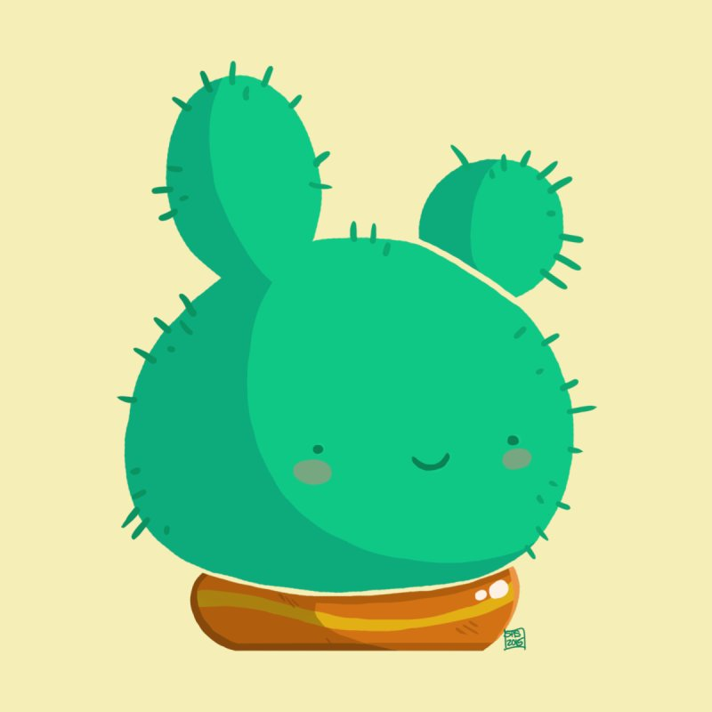 Cutie Cactus by Steph Stanga's Artist Shop