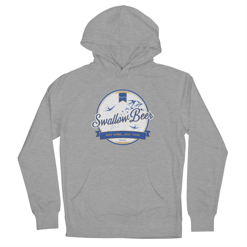 Let's Swallow Beer Men's Pullover Hoody by StephStump