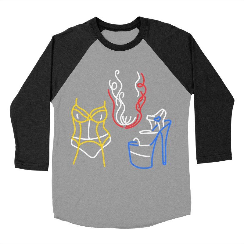 JUICE Men's Baseball Triblend Longsleeve T-Shirt by stephupsidefrown's Artist Shop