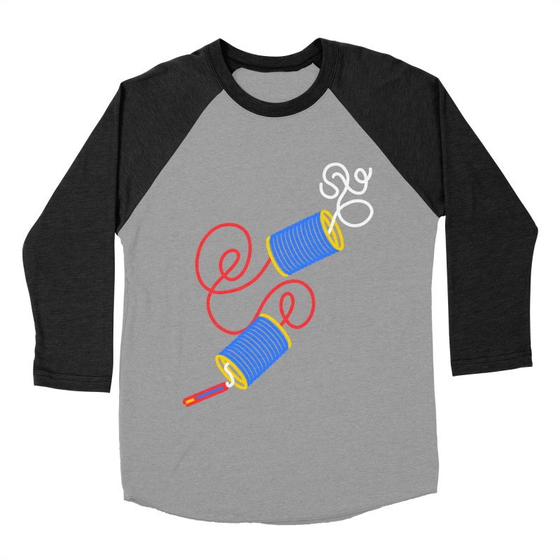 CAN U ROLL Women's Baseball Triblend Longsleeve T-Shirt by stephupsidefrown's Artist Shop