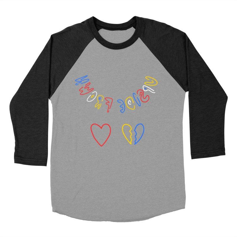 UPSIDE FROWN Men's Baseball Triblend Longsleeve T-Shirt by stephupsidefrown's Artist Shop