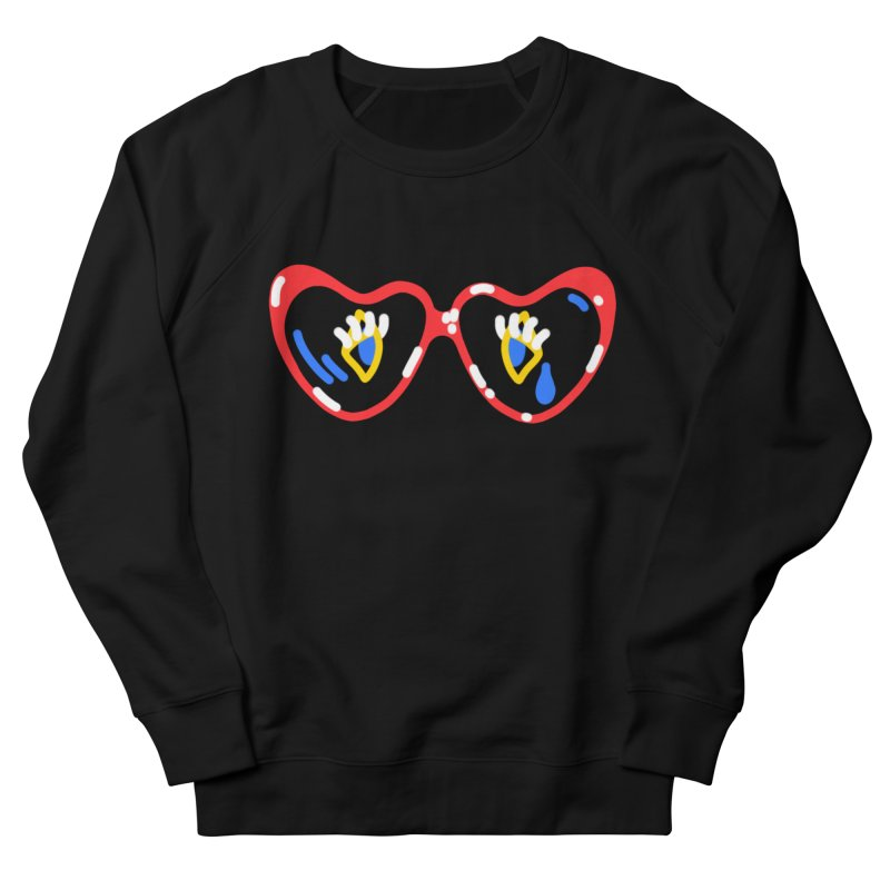 LEAD THE WAY Women's French Terry Sweatshirt by stephupsidefrown's Artist Shop