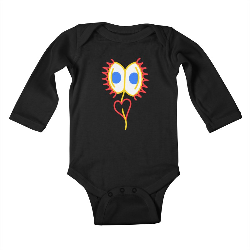 VENUS FLY RAPS Kids Baby Longsleeve Bodysuit by stephupsidefrown's Artist Shop