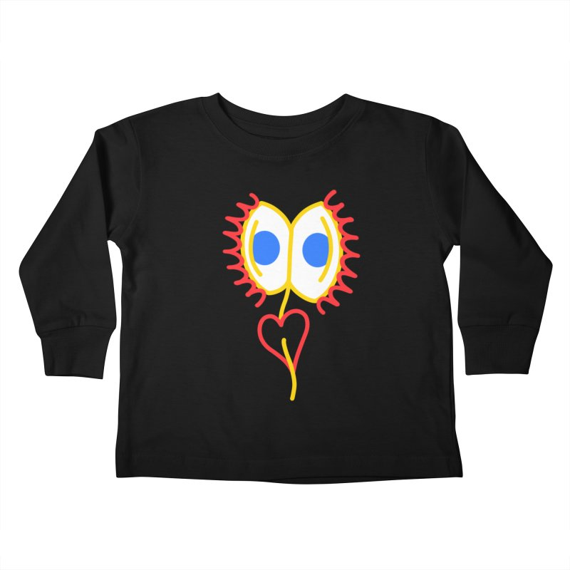 VENUS FLY RAPS Kids Toddler Longsleeve T-Shirt by stephupsidefrown's Artist Shop