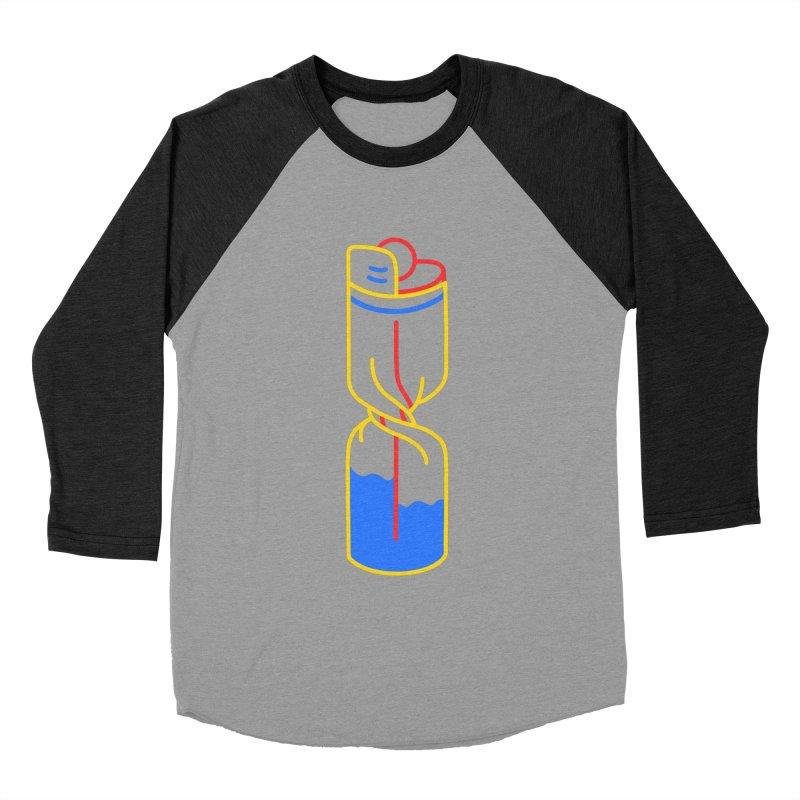 TWIST AND FLICK Men's Baseball Triblend Longsleeve T-Shirt by stephupsidefrown's Artist Shop