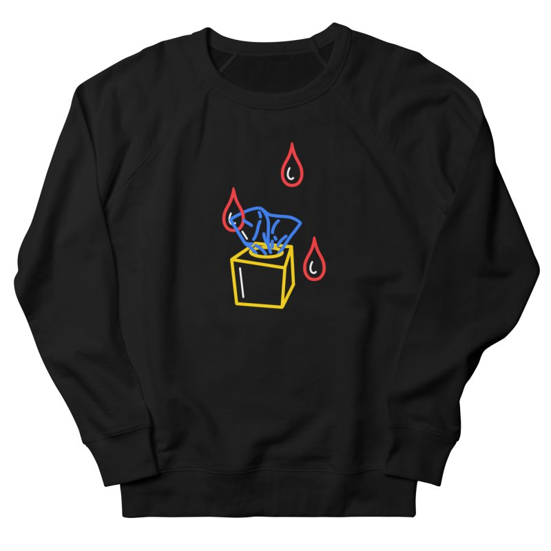 (T)ISSUES Women's French Terry Sweatshirt by stephupsidefrown's Artist Shop