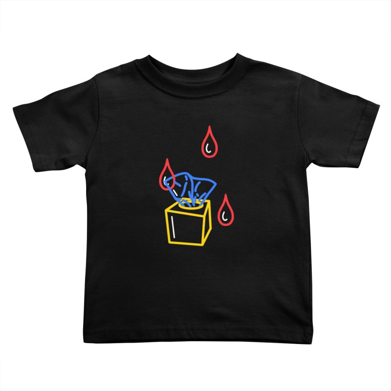 (T)ISSUES Kids Toddler T-Shirt by stephupsidefrown's Artist Shop