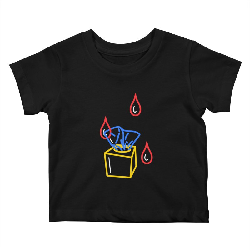 (T)ISSUES Kids Baby T-Shirt by stephupsidefrown's Artist Shop