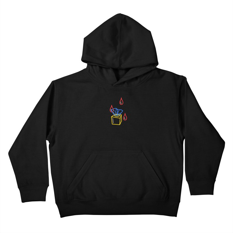 (T)ISSUES Kids Pullover Hoody by stephupsidefrown's Artist Shop