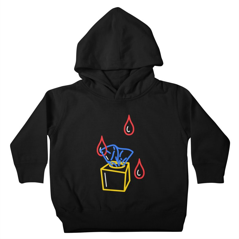 (T)ISSUES Kids Toddler Pullover Hoody by stephupsidefrown's Artist Shop