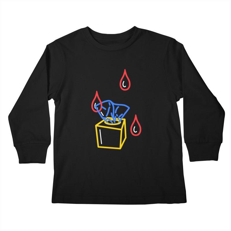 (T)ISSUES Kids Longsleeve T-Shirt by stephupsidefrown's Artist Shop