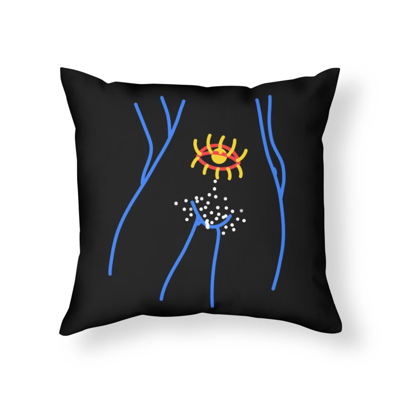 COOTER FLASH Home Throw Pillow by stephupsidefrown's Artist Shop