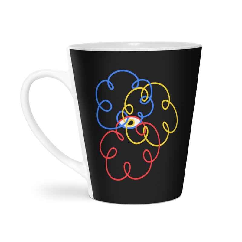 WHERES YOUR SOUL Accessories Latte Mug by stephupsidefrown's Artist Shop