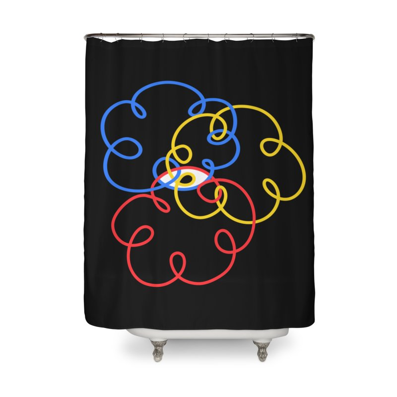 WHERES YOUR SOUL Home Shower Curtain by stephupsidefrown's Artist Shop